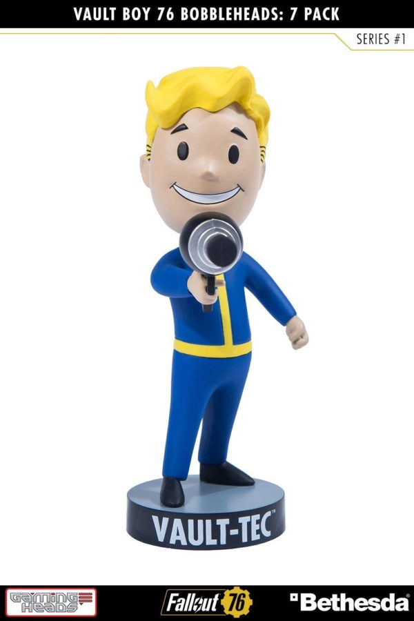 VAULT BOYS PACK 7 FIGURINES BOBBLE HEADS FALLOUT 76 SERIE 1 GAMING HEADS 13 CM (3) 5060254182650 kingdom-figurine.fr