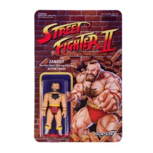ZANGIEF FIGURINE STREET FIGHTER II WAVE 1 RE-ACTION SUPER7 605930564419 kingdom-figurine.fr