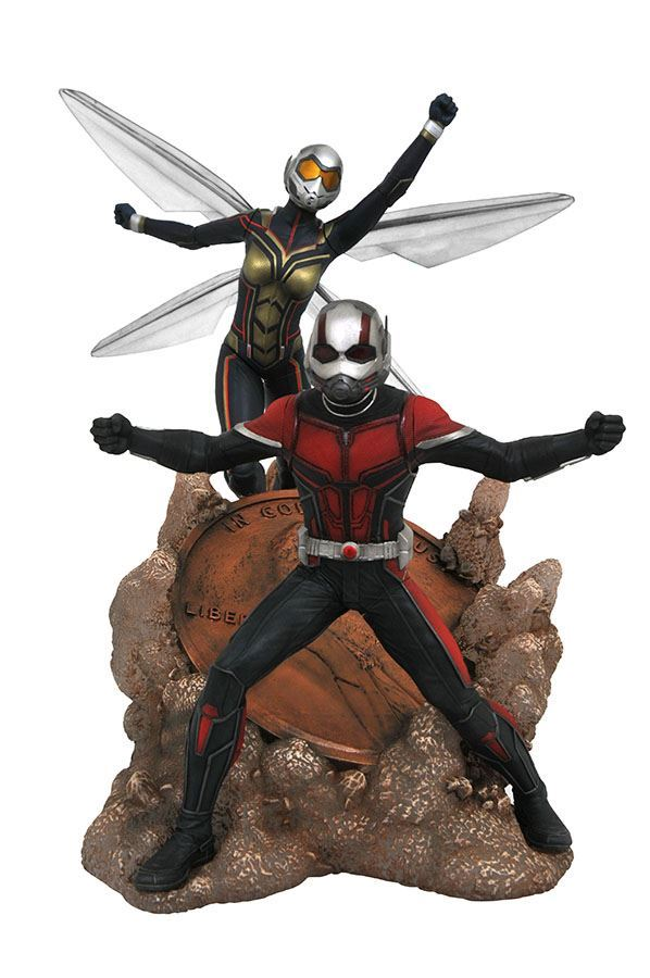 ANT-MAN STATUE ANT-MAN & THE WASP MARVEL MOVIE GALLERY DIAMOND SELECT TOYS 23 CM (2) 699788830666 kingdom-figurine.fr