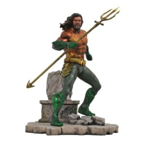 AQUAMAN STATUE DC MOVIE GALLERY DIAMOND SELECT 23 CM (1) 699788829295 kingdom-figurine.fr