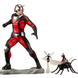 ASTONISHING ANT-MAN & WASP STATUE ARTFX+ MARVEL COMICS AVENGERS SERIES KOTOBUKIYA 19 CM (1bis) 4934054093519 kingdom-figurine.fr