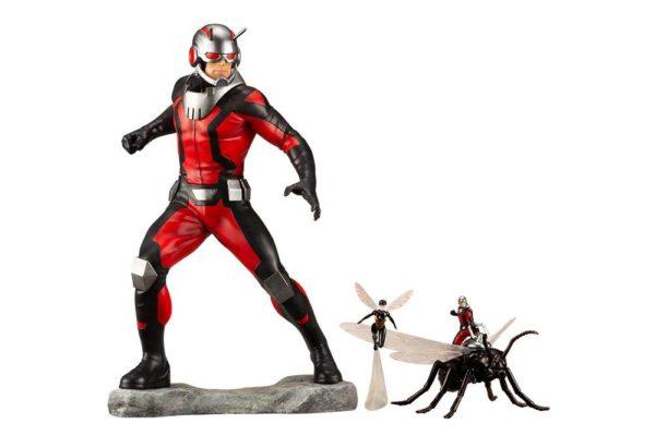 ASTONISHING ANT-MAN & WASP STATUE ARTFX+ MARVEL COMICS AVENGERS SERIES KOTOBUKIYA 19 CM (1bis) 4934054093519 kingdom-figurine.fr