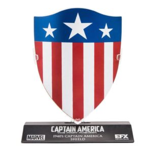 BOUCLIER CAPTAIN AMERICA 1940 RÉPLIQUE MARVEL LC EXCLU 10 CM 844818000827 kingdom-figurine.fr