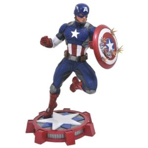 CAPTAIN AMERICA STATUE MARVEL NOW MARVEL GALLERY DIAMOND SELECT 23 CM (1) 699788183281 kingdom-figurine.fr