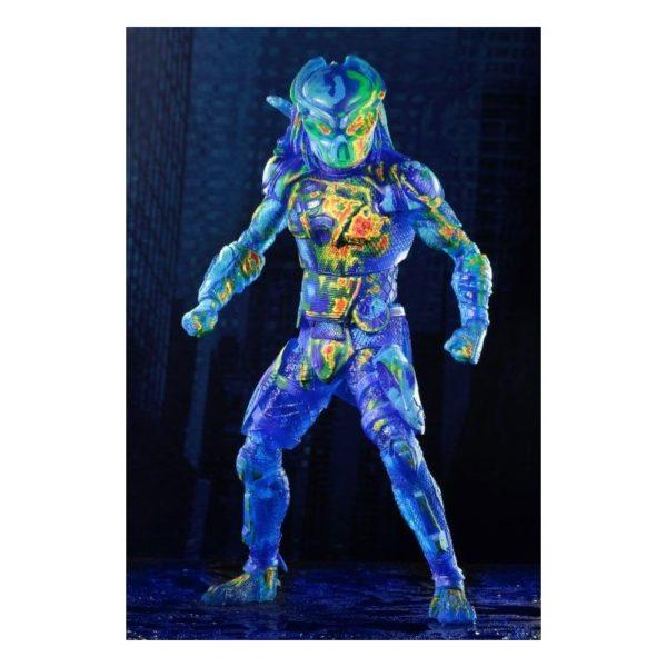 FUGITIVE PREDATOR THERMAL VISION FIGURINE PREDATOR 2018 NECA 20 CM (1) 634482515785 kingdom-figurine.fr