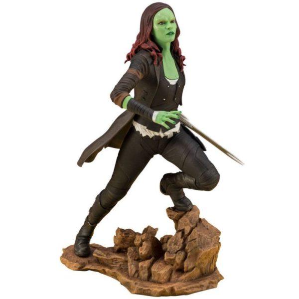 GAMORA STATUE ARTFX+ MARVEL AVENGERS INFINITY WAR KOTOBUKIYA 22 CM (0) 4934054006908 kingdom-figurine.fr