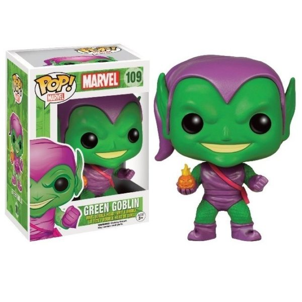 GREEN GOBLIN FIGURINE MARVEL POP 109 FUNKO (1) 849803075750 kingdom-figurine.fr