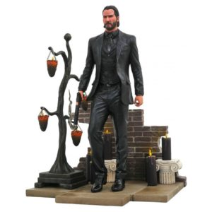 JOHN WICK STATUE JOHN WICK CHAPTER 2 GALLERY DIAMOND SELECT 23 CM (1) 699788830369 kingdom-figurine.fr