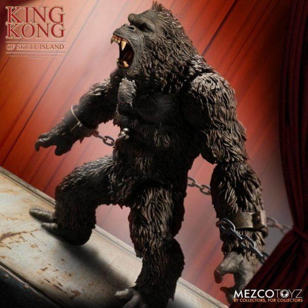 KING KONG FIGURINE KING KONG OF SKULL ISLAND MEZCO 18 CM (1bis) 696198101003 kingdom-figurine.fr