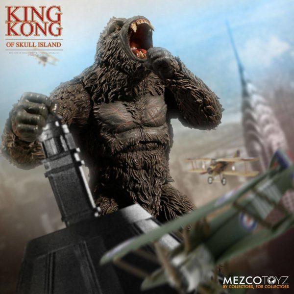 KING KONG FIGURINE KING KONG OF SKULL ISLAND MEZCO 18 CM (3) 696198101003 kingdom-figurine.fr