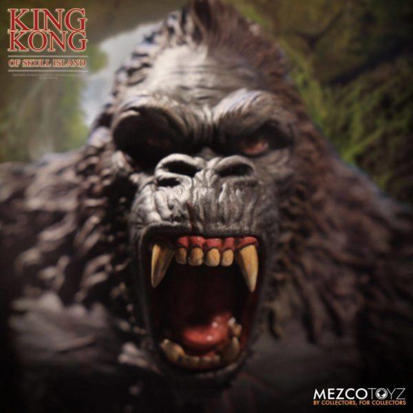 KING KONG FIGURINE KING KONG OF SKULL ISLAND MEZCO 18 CM (4) 696198101003 kingdom-figurine.fr