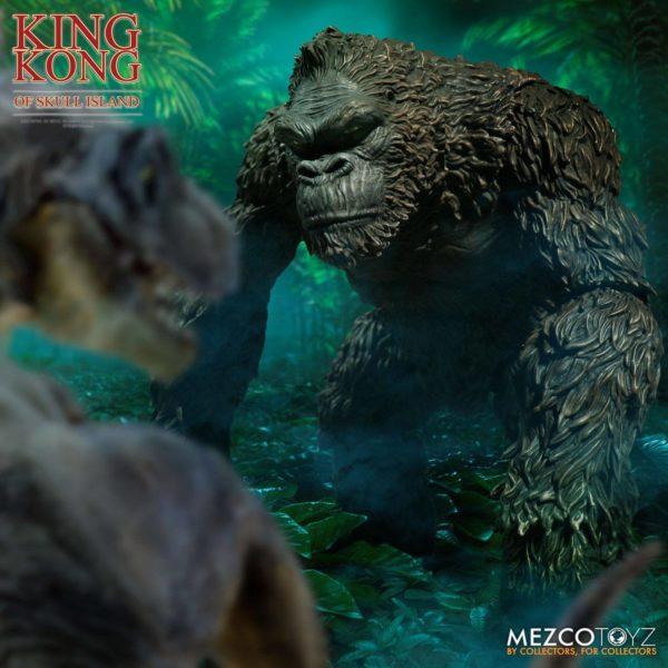 KING KONG FIGURINE KING KONG OF SKULL ISLAND MEZCO 18 CM (6) 696198101003 kingdom-figurine.fr