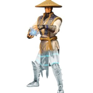 RAIDEN DISPLACER VARIANT PREVIEWS EXCLUSIVE FIGURINE MORTAL KOMBAT X MEZCO TOYS 15 CM 0696198893601 kingdom-figurine.fr