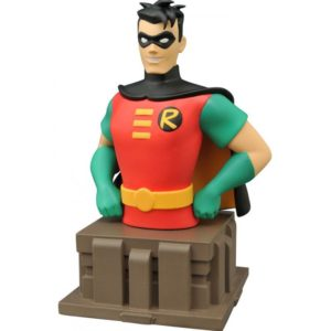 ROBIN BUSTE BATMAN THE ANIMATED SERIES DIAMOND SELECT TOYS 14 CM (1) 699788813096 kingdom-figurine.fr