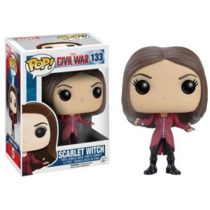 SCARLET WITCH FIGURINE CAPTAIN AMERICA CIVIL WAR POP 133 FUNKO (1) 849803072315 kingdom-figurine.fr