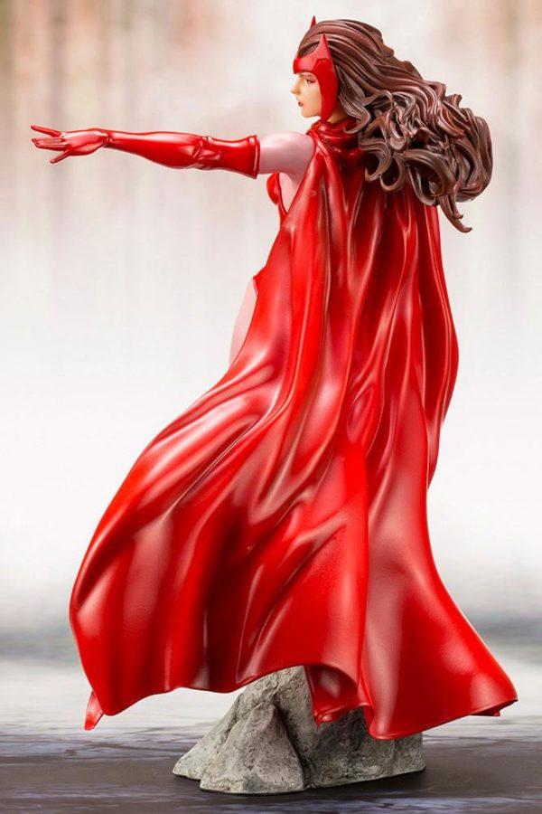 SCARLETT WITCH STATUE ARTFX+ MARVEL KOTOBUKIYA 21 CM (5) 4934054093533 kingdom-figurine.fr
