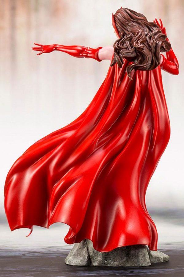 SCARLETT WITCH STATUE ARTFX+ MARVEL KOTOBUKIYA 21 CM (6) 4934054093533 kingdom-figurine.fr