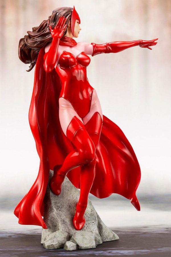 SCARLETT WITCH STATUE ARTFX+ MARVEL KOTOBUKIYA 21 CM (7) 4934054093533 kingdom-figurine.fr