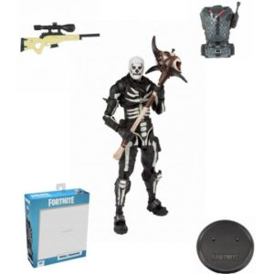 SKULL TROOPER FIGURINE FORTNITE McFARLANE TOYS 18 CM (0bis) 787926106022 kingdom-figurine.fr