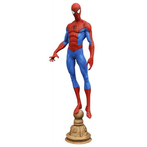 SPIDER-MAN STATUE MARVEL GALLERY DIAMOND SELECT TOYS 23 CM (1) 699788182512 kingdom-figurine.fr