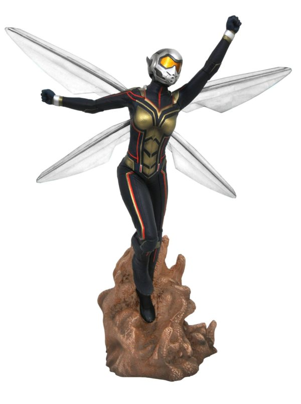 THE WASP STATUE ANT-MAN & THE WASP MARVEL MOVIE GALLERY DIAMOND SELECT TOYS 23 CM (1bis) 699788830673 kingdom-figurine.fr
