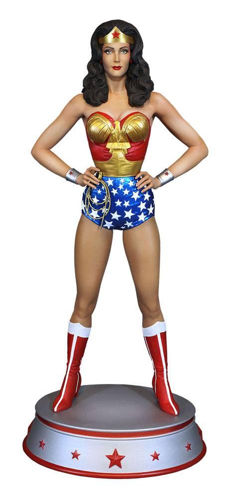 WONDER WOMAN STATUE DC COMICS TWEETERHEAD 34 CM (1bis) 40232268274 kingdom-figurine.fr