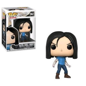 ALITA DOLL FIGURINE ALITA BATTLE ANGEL POP MOVIES 562 FUNKO 889698303217 kingdom-figurine.fr