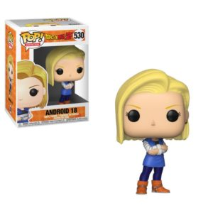 ANDROID 18 FIGURINE DRAGONBALL Z POP ANIMATION 530 FUNKO 889698364034 kingdom-figurine.fr