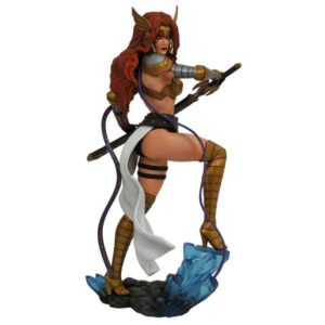 ANGELA STATUE MARVEL COMIC GALLERY DIAMOND SELECT TOYS 25 CM (1) 699788827352 kingdom-figurine.fr