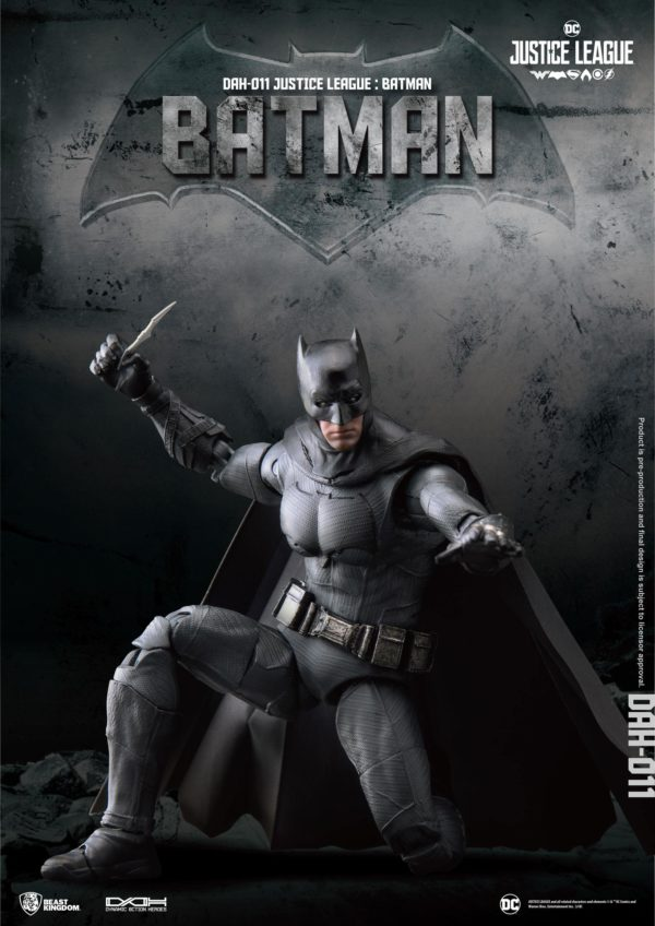 BATMAN FIGURINE JUSTICE LEAGUE DYNAMIC ACTION HEROES BEAST KINGDOM TOYS 20 CM (2) 4713319859424 kingdom-figurine.fr