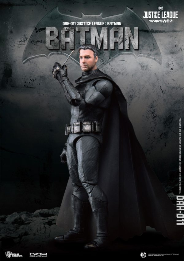 BATMAN FIGURINE JUSTICE LEAGUE DYNAMIC ACTION HEROES BEAST KINGDOM TOYS 20 CM (3) 4713319859424 kingdom-figurine.fr