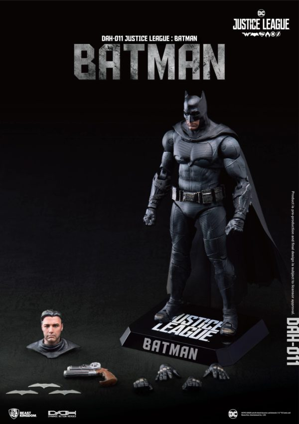 BATMAN FIGURINE JUSTICE LEAGUE DYNAMIC ACTION HEROES BEAST KINGDOM TOYS 20 CM (4) 4713319859424 kingdom-figurine.fr