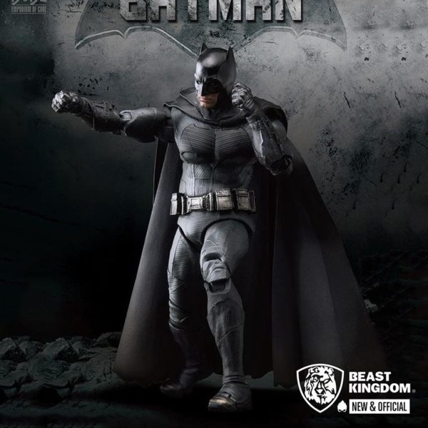 BATMAN FIGURINE JUSTICE LEAGUE DYNAMIC ACTION HEROES BEAST KINGDOM TOYS 20 CM 4713319859424 kingdom-figurine.fr
