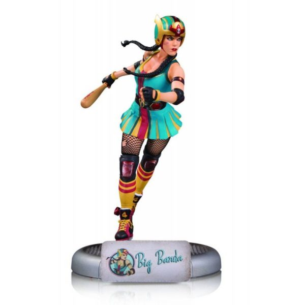 BIG BARDA STATUE DC COMICS BOMBSHELLS DC COLLECTIBLES 25 CM (1) 761941349985 kingdom-figurine.fr