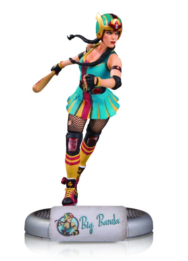 BIG BARDA STATUE DC COMICS BOMBSHELLS DC COLLECTIBLES 25 CM (2) 761941349985 kingdom-figurine.fr