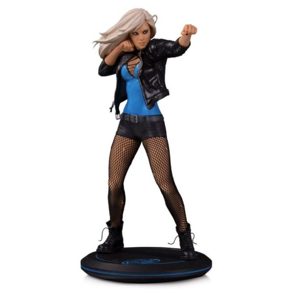 BLACK CANARY BY JOELLE JONES STATUE DC COVER GIRLS DC COLLECTIBLES 24 CM (1) 761941355887 kingdom-figurine.fr