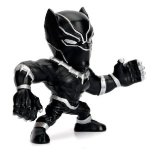 BLACK PANTHER FIGURINE MARVEL AVENGERS METALFIGS M502 JADA 6 CM (1) 801310843154(B) kingdom-figurine.fr