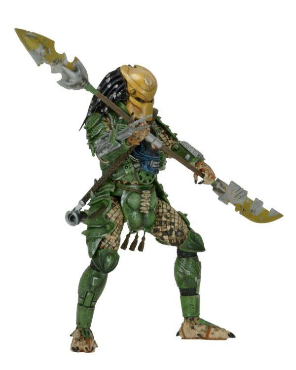 BROKEN TUSK PREDATOR FIGURINE PREDATOR SERIES 18 NECA 20 CM (1bis) 634482515433 kingdom-figurine.fr