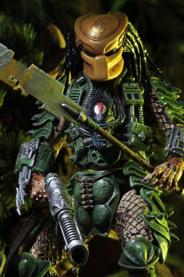 BROKEN TUSK PREDATOR FIGURINE PREDATOR SERIES 18 NECA 20 CM (4) 634482515433 kingdom-figurine.fr
