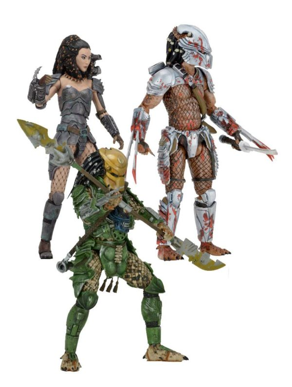 BROKEN TUSK PREDATOR FIGURINE PREDATOR SERIES 18 NECA 20 CM (5) 634482515433 kingdom-figurine.fr