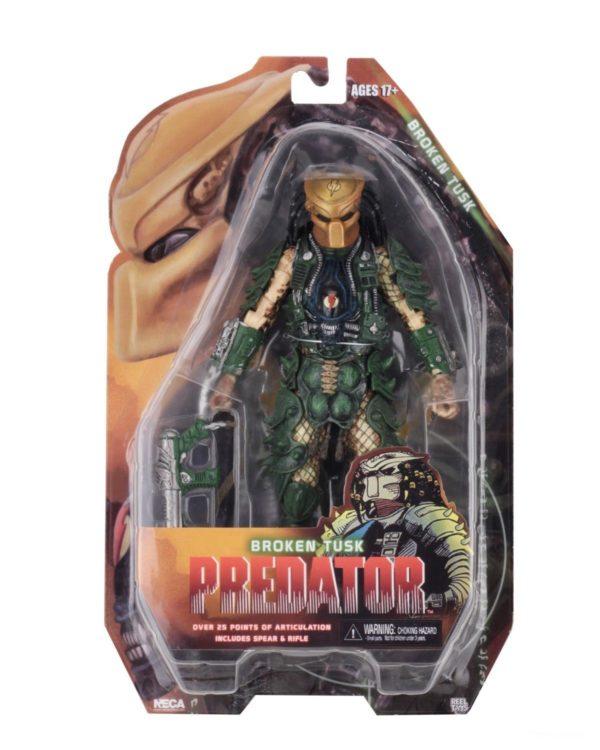 BROKEN TUSK PREDATOR FIGURINE PREDATOR SERIES 18 NECA 20 CM (7) 634482515433 kingdom-figurine.fr