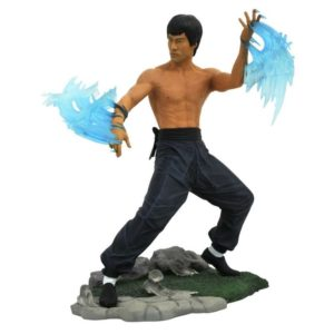 BRUCE LEE GALLERY STATUETTE DIAMOND SELECT TOYS 23 CM (1) 699788833964 kingdom-figurine.fr