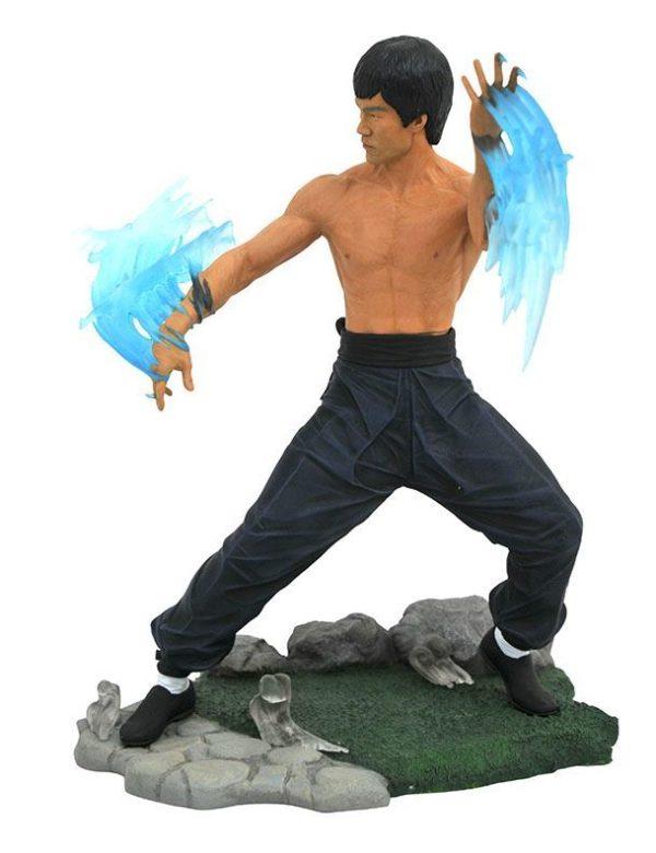 BRUCE LEE GALLERY STATUETTE DIAMOND SELECT TOYS 23 CM (2) 699788833964 kingdom-figurine.fr