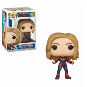 CAPTAIN MARVEL FIGURINE POP CAPTAIN MARVEL 425 FUNKO (1) 889698363419 kingdom-figurine.fr