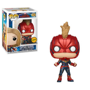 CAPTAIN MARVEL FIGURINE POP CHASE EDITION CAPTAIN MARVEL 425 FUNKO 889698363419 kingdom-figurine.fr