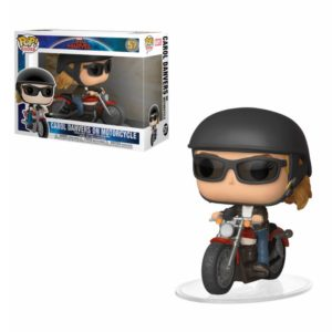 CAROL DANVERS ON MOTORCYCLE FIGURINE CAPTAIN MARVEL POP RIDES 57 FUNKO 889698363792 kingdom-figurine.fr