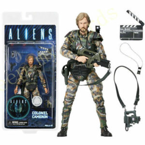 COL. JAMES CAMERON FIGURINE ALIENS NECA 18 CM (0) 634482516805 kingdom-figurine.fr