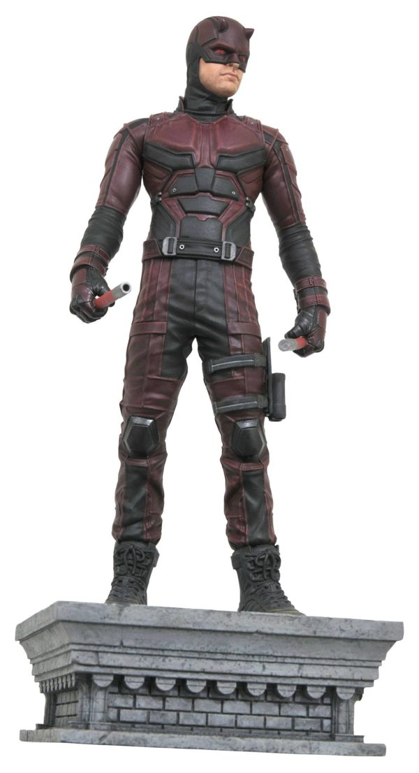DAREDEVIL STATUE MARVEL GALLERY NETFLIX TV SERIES DIAMOND SELECT TOYS 28 CM (1bis) 699788816578 kingdom-figurine.fr