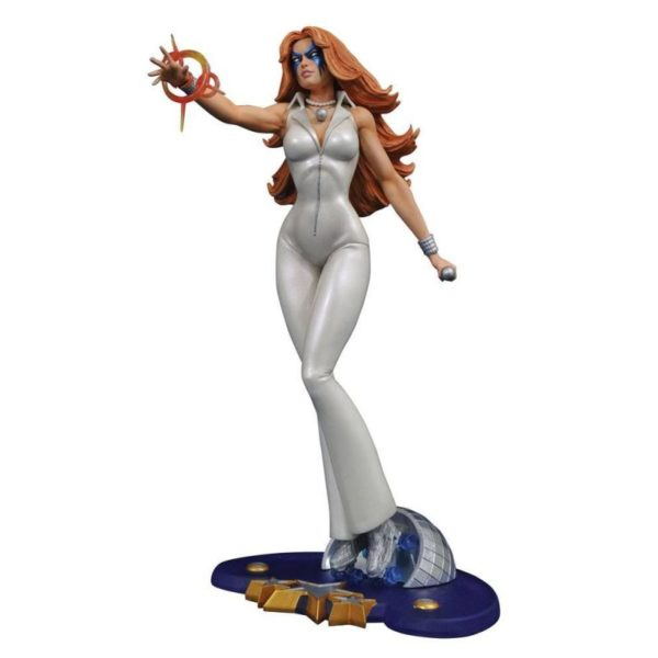 DAZZLER STATUETTE MARVEL COMIC GALLERY DIAMOND SELECT TOYS 23 CM (1) 699788825556 kingdom-figurine.fr