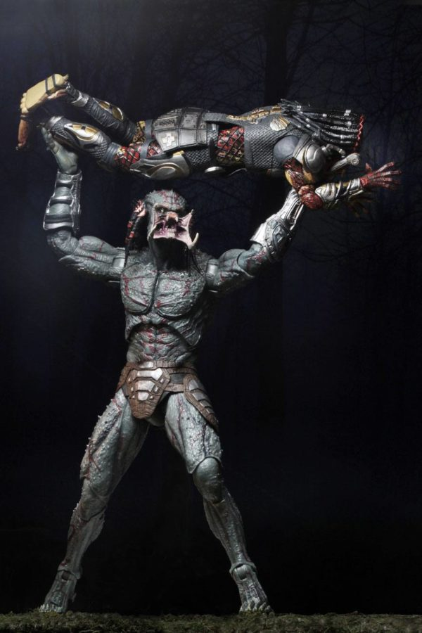 DELUXE ARMORED ASSASSIN PREDATOR FIGURINE PREDATOR 2018 NECA 30 CM (14) 634482515792 kingdom-figurine.fr